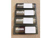 HP Hynix 500207-171 64GB (4 X 16GB) PC3-8500 DDR3 ECC SDRAM 1066MHz DIMM 240-pin