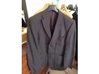 Men's Brown Linen Jacket XL