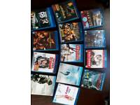 13 Blu-ray DVDs - Selection
