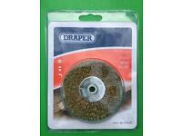 Draper 17mm Wire Brush, Brand New