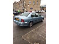 2002 ROVER 45 2.0TD CLASSIC 12 months mot LOW MILES