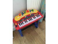Child toddler keyboard piano