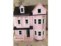 Dolls house (wooden)