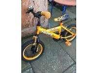 2 kids bikes with stabilisers