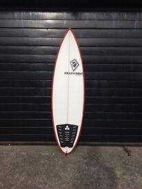 Beachbeat Surfboards 5'8 round pin