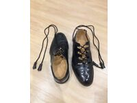Mens Scottish Leather Ghillie Brogues (Size 6)