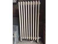 Vintage cast iron radiator
