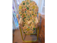 A Baby high chair table
