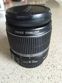 Canon EFS 18-55mm auto focus lens 0.25m/0.8ft
