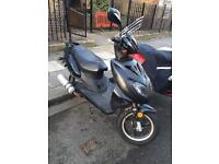 50cc Direct Bikes Sports Moped cheap £250
