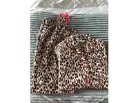 Primark Leopard Print Pyjama Nightwear