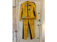 Kill Bill Women's Beatrix Kiddo Motorcycle Suit Costume Halloween - iconic