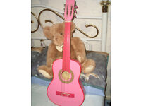 PINK GUITAR..and natural guitar