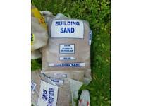 Building sand sacks £2 each