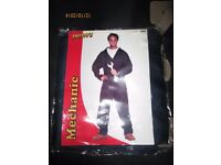 MENS MECHANIC DANNY FROM GREASE OUTFIT SIZE M GREAT FOR PARTY OR STAG DO