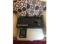 Razed blackwidow mechanical keyboard and razer deathadder chroma mouse