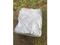 Ground sheet breathable grey awning