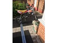 110cc welsh pitbike semi auto OFFERS