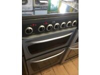 Hotpoint silver and black electric cooker £120 can deliver