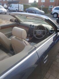 Audi A4 2.4 auto convertible