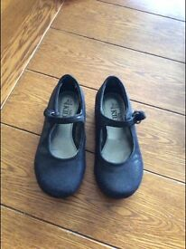 Girls M&S sparkly shoes, ideal for Xmas , worn once size 8