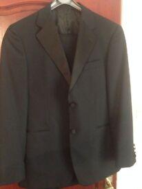 "Dinner Suit Tuxedo Single Breasted 40"" Chest Adjustable 34"" waist 31"" leg"