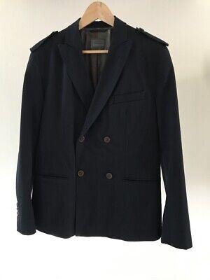 Hugo Boss blazer Jacket in dark blue handcrafted size 50