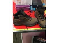 Brown Ecco Hiking Boots Size 37