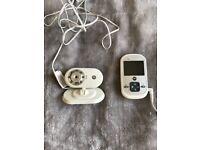 Webcam baby monitor