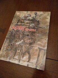 The Art of Howl's Moving Castle (hardback) £5