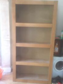 Large bookcase/shelving unit