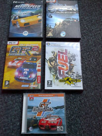PC games boxed, dvd originals as new