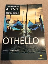 A Level (Higher) Othello Revision Guide - York Notes