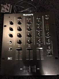 Barely used Numark m4 mixer