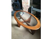 G Plan mid century Astro coffee table