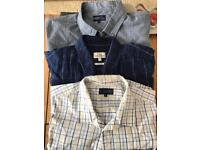 Men's Large Shirts 2 from matalan 1 from next