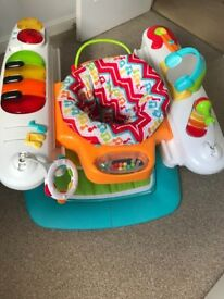 Fisher Price 4 in 1 Musical Piano Walker