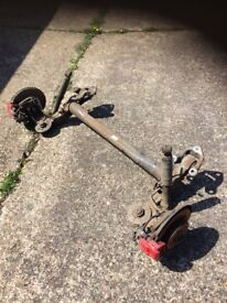 Astra h sri 58 Plate 1.9 cdti z19dth 150bhp rear axle with grove discs vgc 07594145438
