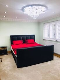 Furnished Double bedroom with ensuite and extras