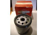 1 Briggs & Stratton. 491056 & 1 Fiat Tipo. 2022 oil filter