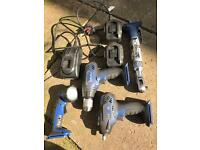 Bluepoint 14.4 power tool set