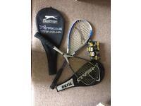 Squash Racquets and Balls