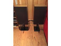Celestion Ditton 110 Vintage Main / Stereo Speakers & AVF Stands