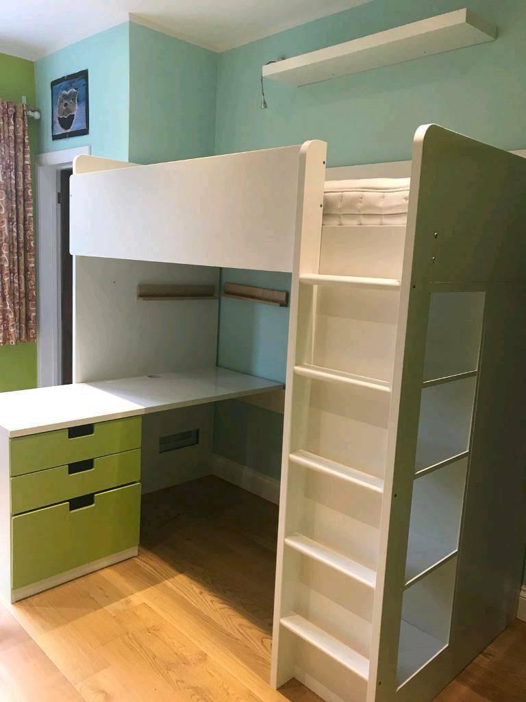 Ikea Stuva Loft Bed Desk Wardrobe In Portslade East