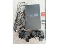 Playstation 2 with 23 games
