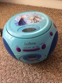 Frozen Portable CD Radio Player