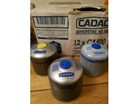 12 x 500g camping gas canisters