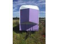 Rice horse trailer needs a little bit of attention inside but solid floor £800 ONO