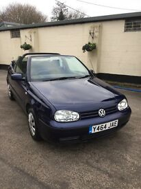 VW Golf Convertible 2ltr SE Auto
