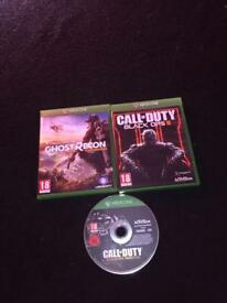 Ghost recon, black ops 3 and advanced warfare